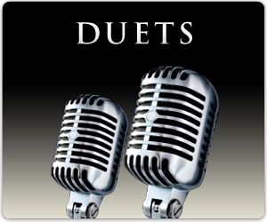 I am the duet man, goo goo g'joob