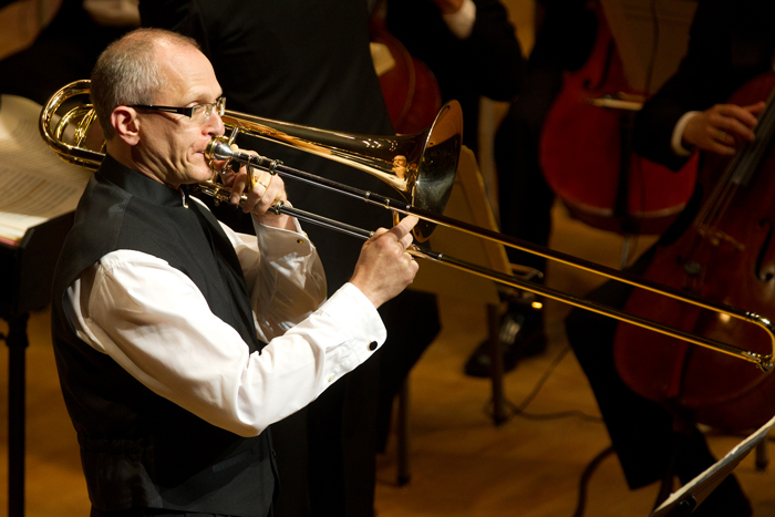 Two upcoming concerts in the Midwest: playing serpent, and a bass trombone solo with orchestras in Illinois andIowa