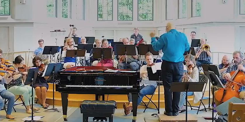 When classical music meetsfaith