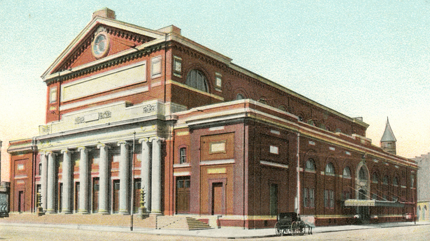Symphony Hall: Boston's proud temple of music since1900
