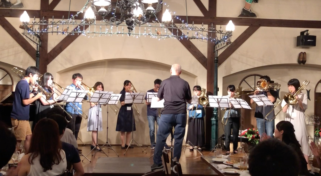 Hamamatsu_Academy_2019_Farewell_Party_trombones