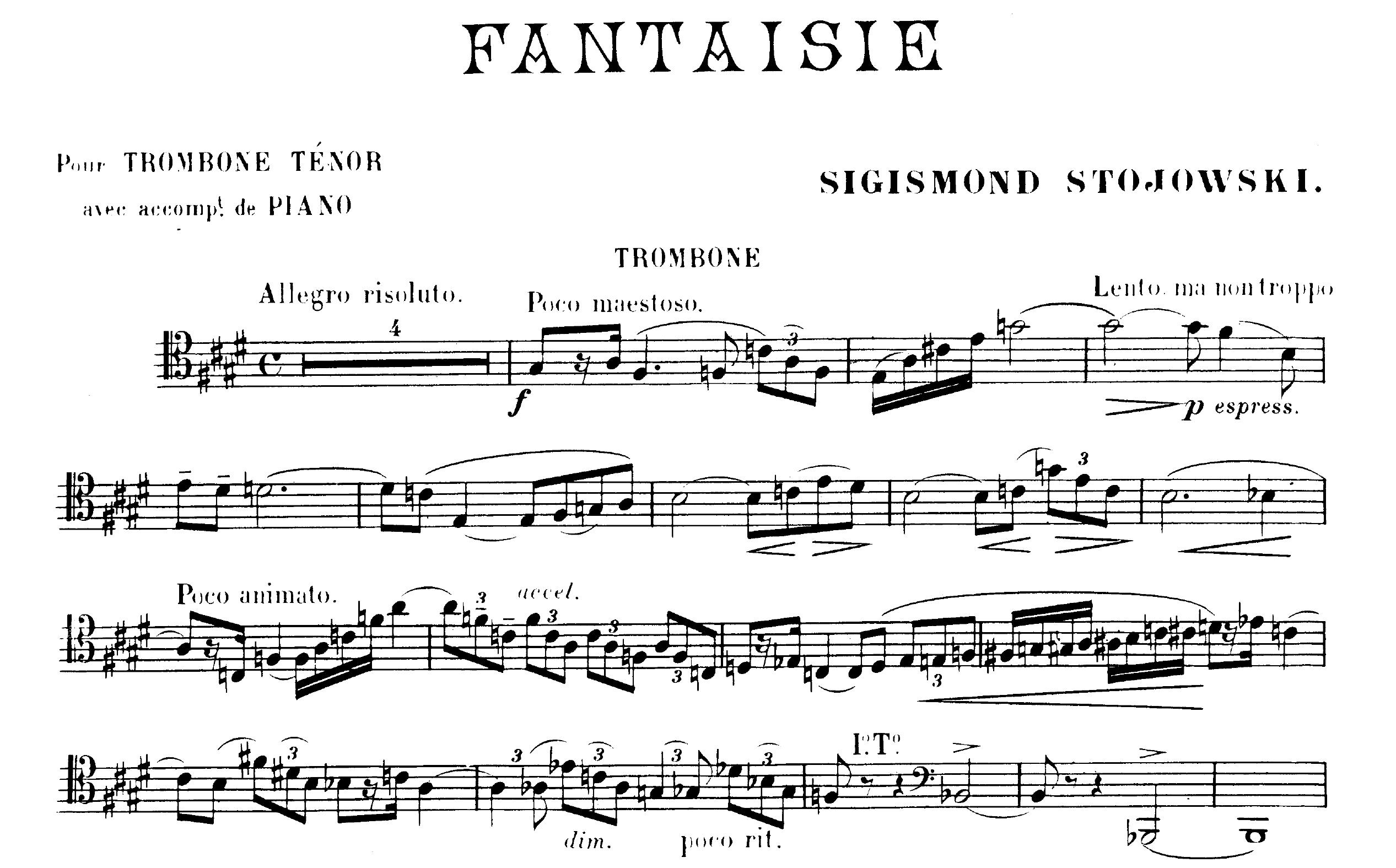 Stojowski_Fantaisie_trombone_incipit
