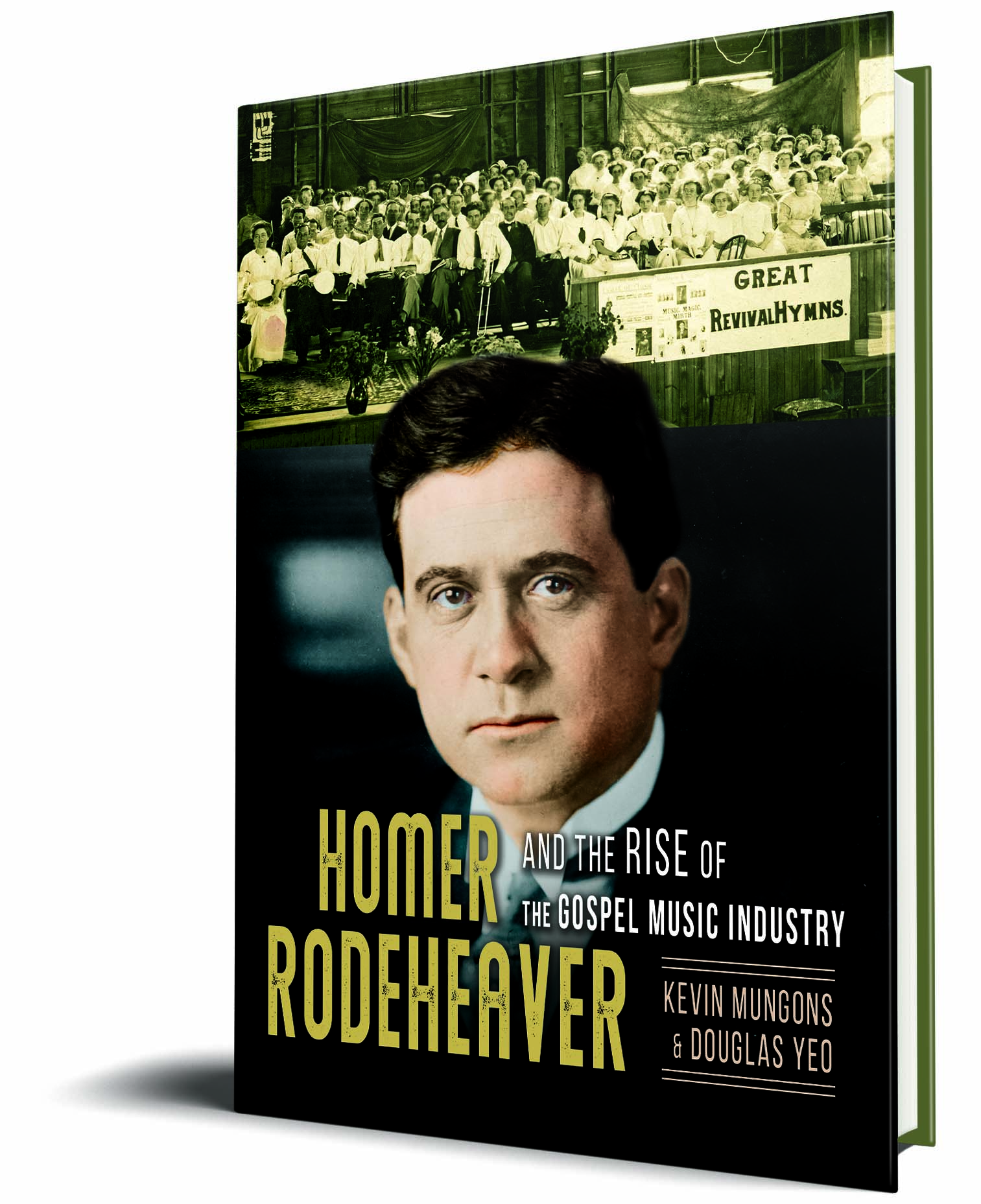 Rodeheaver 3D Book Cover