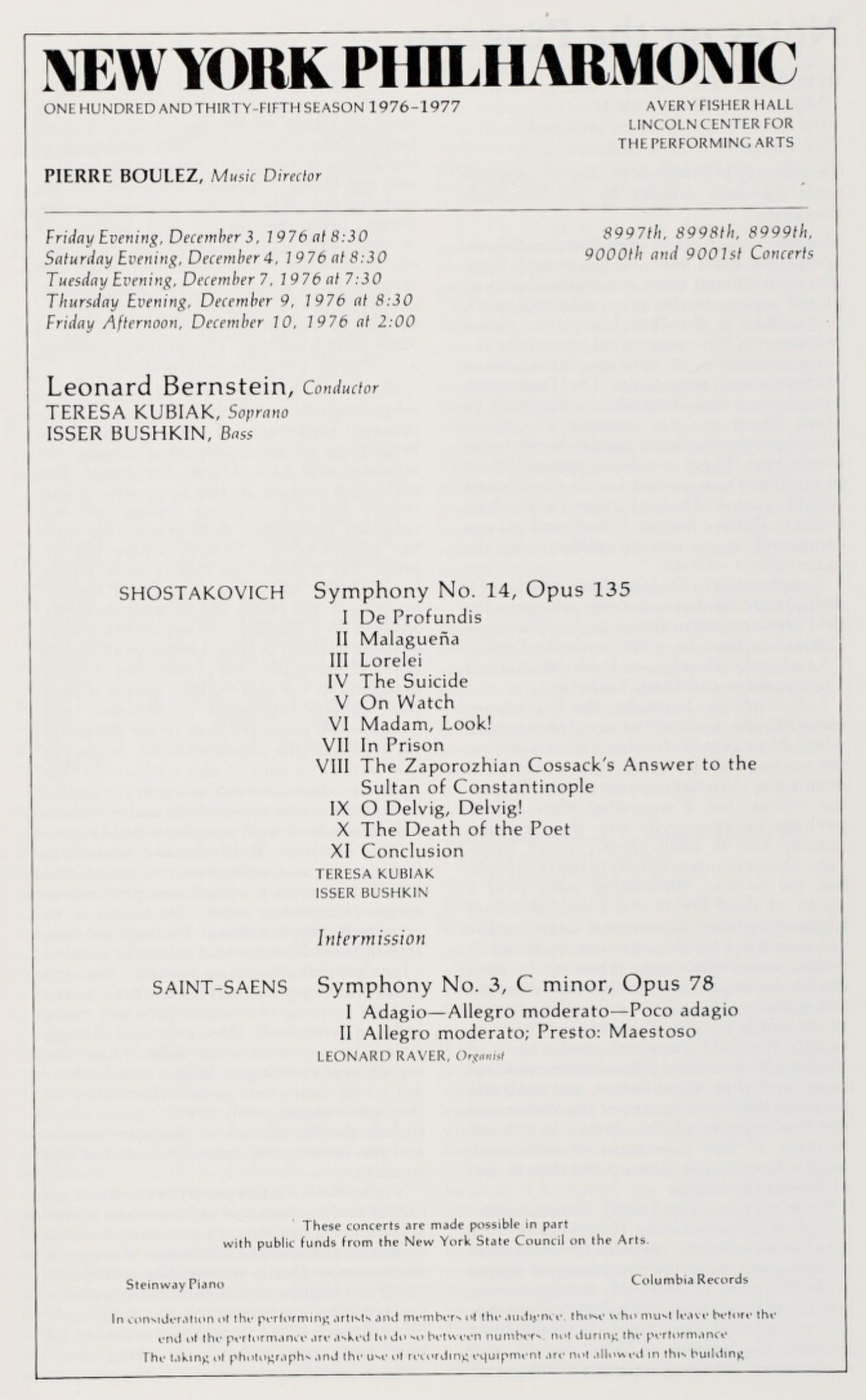 Bernstein_Shostakovich_14_1976