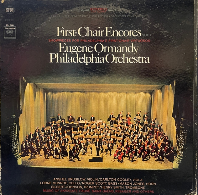 First_Chair_Encores_Smith_cover